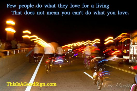 Love and Living Good Sign