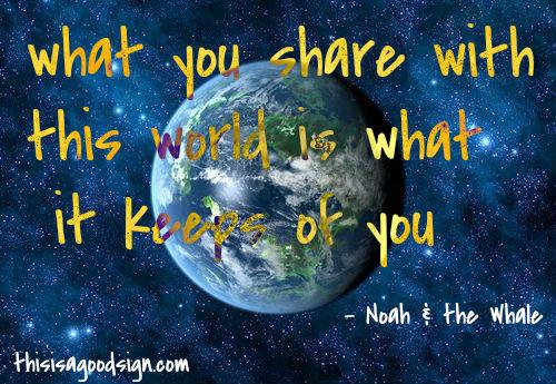 Noah & the Whale Good Sign