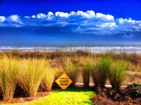 Good Sign HHI Clouds and Coast