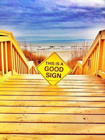Good Sign Hilton Head Beach Boarwalk