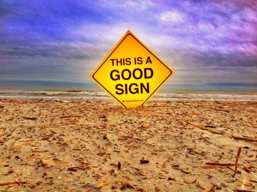 Good Sign Hilton Head Beach