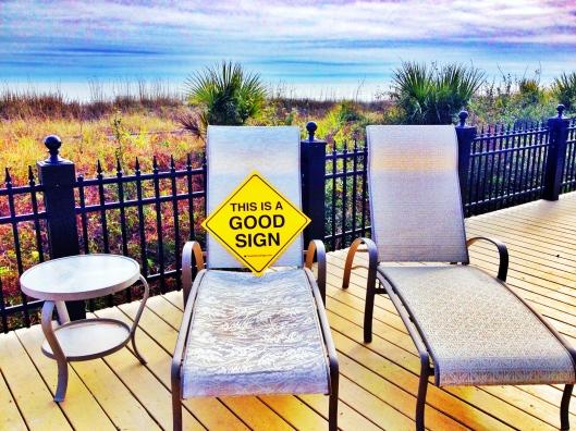 Good Sign Hilton Head Lawn CHair Horizon