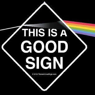 good sign pink floyd