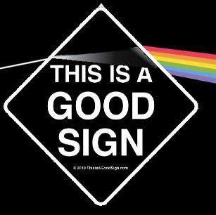 good sign pink floyd